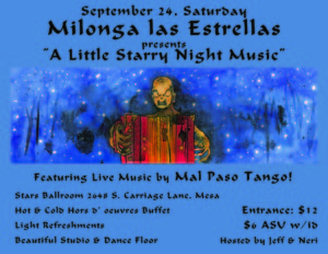 Milonga Las Estrellas @ Stars Ballroom | Mesa | Arizona | United States