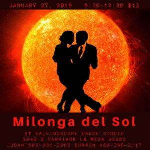 Milonga del Sol @ Kaleidoscope Ballroom